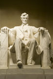 Lincoln Memorial. Landmark statue at the Lincoln Memorial in Washington, D.C., USA Stock Photo