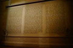 Lincoln Memorial 20 royalty-vrije stock foto