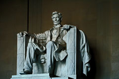 lincoln memorial Obrazy Royalty Free