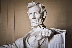 Lincoln Memorial. In Washington DC Stock Photo