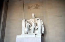 Lincoln Memorial Foto de archivo libre de regalías