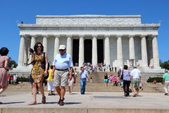 Lincoln Memorial Imagem de Stock Royalty Free