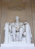 Lincoln Memorial Royaltyfri Foto