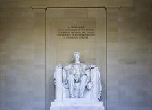 Lincoln Memorial Foto de Stock