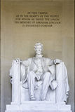 Lincoln Memorial Foto de Stock Royalty Free