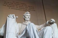Lincoln Memorial. imagens de stock royalty free