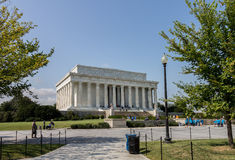 Lincoln Memorial Imagen de archivo libre de regalías