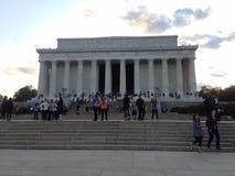 Lincoln Memorial Imagens de Stock