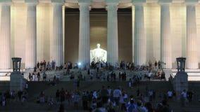 Lincoln Memorial almacen de video