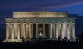 Lincoln Memorial Immagini Stock