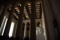 Lincoln Memorial Lizenzfreies Stockfoto