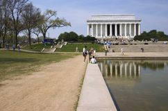 lincoln memorial Fotografia Royalty Free