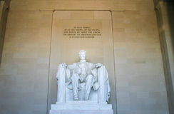 Lincoln Memorial Royalty-vrije Stock Fotografie