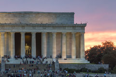 Lincoln Memorial photo libre de droits