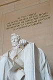 Lincoln Memorial. The Lincoln Memorial in Washington, DC, USA Royalty Free Stock Image