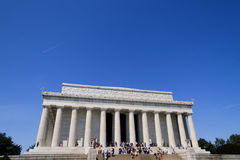 Lincoln Memorial Royalty-vrije Stock Afbeeldingen