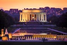 Lincoln Memorial Fotografie Stock