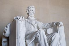 Lincoln Memorial. The Lincoln Memorial in Washington DC Royalty Free Stock Photography