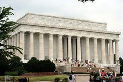 Lincoln Memorial. In Washington, D.C Royalty Free Stock Image