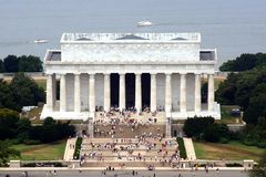 Lincoln Memorial. In Washington, D.C Royalty Free Stock Photos