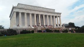 Lincoln Memorial Image libre de droits