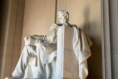 The majestic Lincoln Memorial, Washington D.C, stock photography