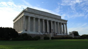 Lincoln Memorial Building Exterior Time-Lapse stock footage