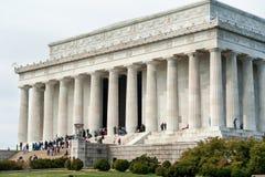 Lincoln Memorial building exterior in Washington DC Royalty Free Stock Photography