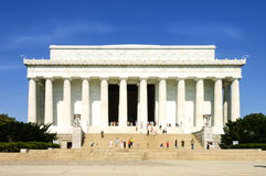Lincoln memorial building stock images