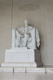 Lincoln Memorial close-up, Washington DC USA Royalty Free Stock Photo