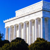 Lincoln Memorial Closeup, Washington DC Stock Photos