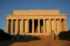 Lincoln Memorial at dawn Royalty Free Stock Photos