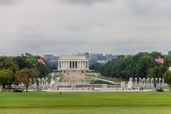 The Lincoln Memorial Royalty Free Stock Photos