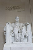 Lincoln Memorial i DC Royaltyfria Bilder