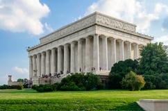 Lincoln Memorial i Washington DC Royaltyfria Bilder
