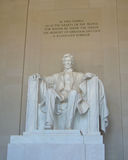 Lincoln Memorial i Washington DC - materielbild Arkivfoton