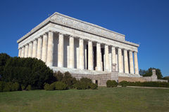 Lincoln Memorial. This is an iconic view of the Lincoln Memorial in Washington, DC Royalty Free Stock Photo
