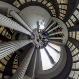 Lincoln Memorial liten planet, Washington DC arkivbild