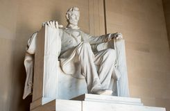 Lincoln Memorial majestoso, Washington D C, fotos de stock royalty free