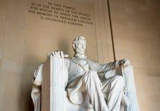 Lincoln Memorial majestueux, Washington D C, photos libres de droits