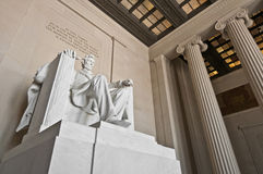 The Lincoln Memorial at the Mall in DC, USA Royalty Free Stock Images