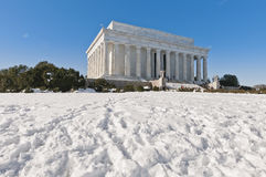 The Lincoln Memorial at the Mall in DC, USA Royalty Free Stock Photo