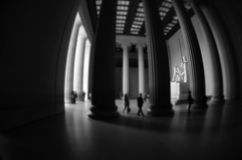 Lincoln Memorial with Miniature Effect Royalty Free Stock Photo