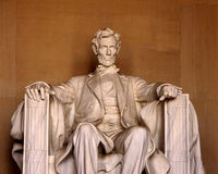 Lincoln memorial monument. Color photo image of the Lincoln memorial monument Stock Images