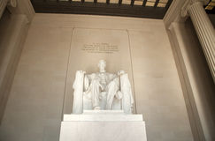 Lincoln Memorial Monument Royalty Free Stock Images