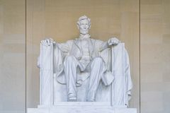Lincoln Memorial in the National Mall, Washington DC.  Stock Image
