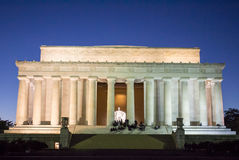 Lincoln Memorial Night Royalty Free Stock Photography