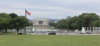 Lincoln Memorial och reflexionspöl Royaltyfri Fotografi