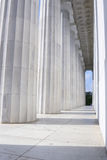Lincoln Memorial Pillars Stock Photos