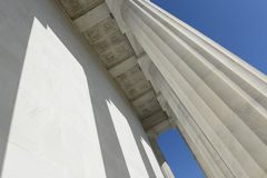 Lincoln Memorial Pillars Royalty Free Stock Photos